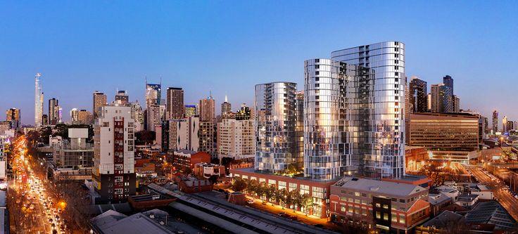 Melbourne Village - 83 Batman Street, West Melbourne (Residential) | Project Database | Urban Melbourne