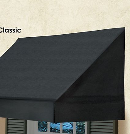 Window Awning Solid Scalloped Edge Awnings Straight