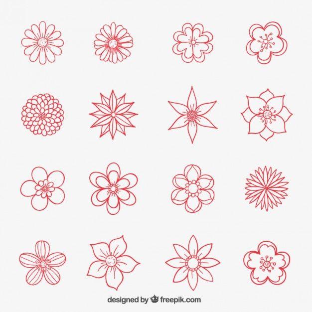 Cartoon flower images