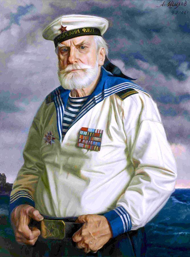 Старый моряк картинка