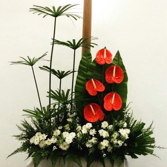 Altar Church Flower Designs: 53 Best EMCLC☆ Church Altar Flower Arrangements Images On