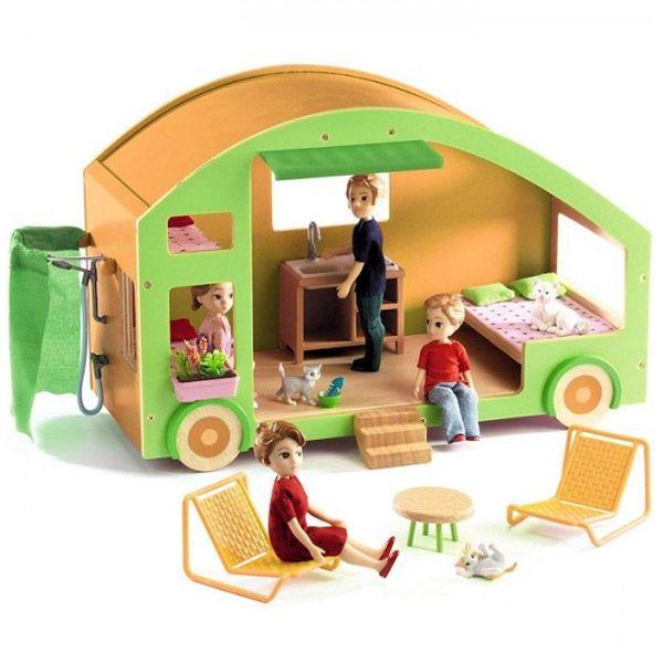 As 25 melhores ideias de interior de caravanas no - Casa munecas eurekakids ...