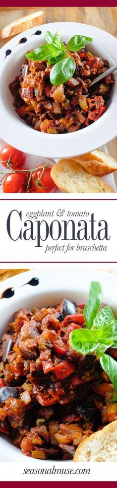 Eggplant Caponata | Seasonal Muse