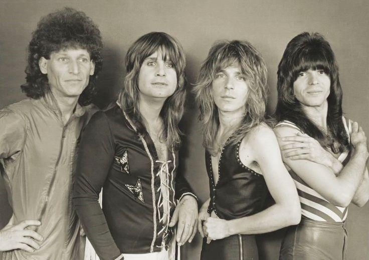 Randy Rhoads, Ozzy Osbourne, Rudy Sarzo, Tommy Aldridge