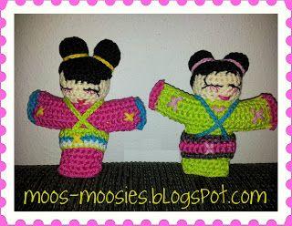 Moos en haar Moosies: Patroon Geisha Moos