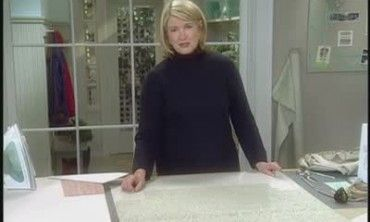 How to Make an Ottoman Slip Cover