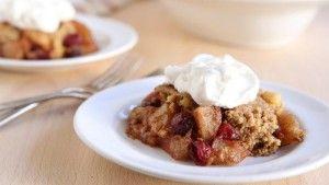 Slow-Cooker Apple-Cranberry Dump Cake | Holidays
