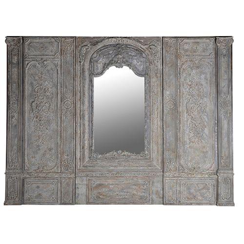 Väggsektion i konststen marmorkomposit som kan fungera som både tavla, vägg eller sänggavel från Manorstyle