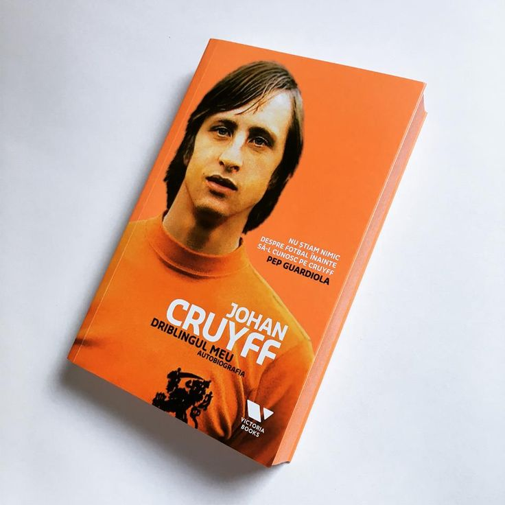 Autobiografia lui Johan Cruyff, unul dintre cei mai influenți fotbaliști din toate timpurile – noutatea seriei Victoria Books.  #myturn #romanianedition #victoriabooks #cruyff #autobiografia #editurapublica