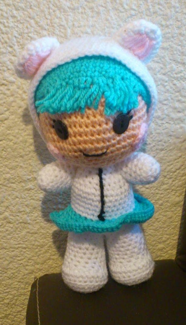 Dorable Mariquita Amigurumi Patrón De Crochet Libre Inspiración ...