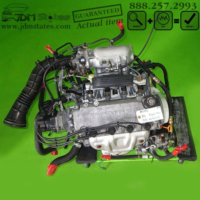 Charming JDM HONDA CIVIC ZC SOHC 1.6L ENGINE A D16A REPLACEMENT 96 00 #Honda Pictures Gallery