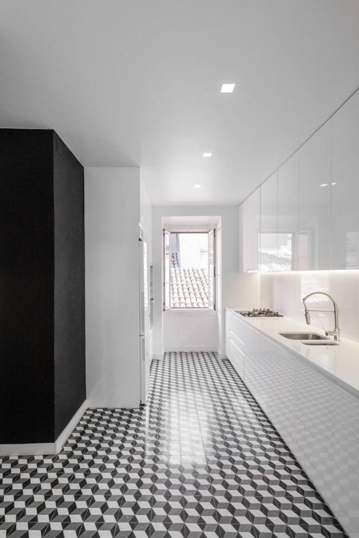 Cozinha na Lapa : Cozinhas minimalistas por Vanessa Santos Silva | Arquiteta
