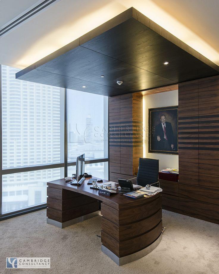 Chestertons Designed By Cambridge Consultancy Dubai Chairman Custom Made Desk