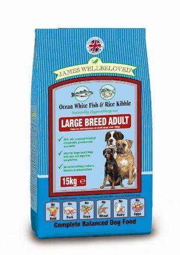 @>  James Wellbeloved Complete Dry Dog Food Adult Large Breed Fish 15 Kg