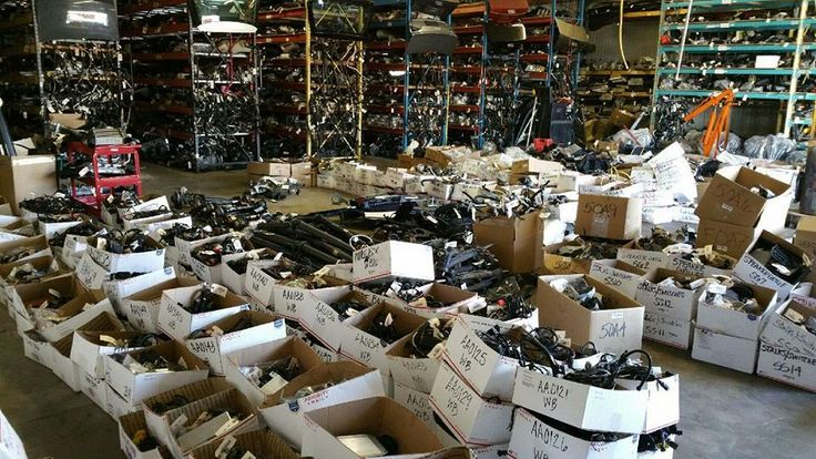 40,000 parts that needed to be moved into our new shop in Waverly!