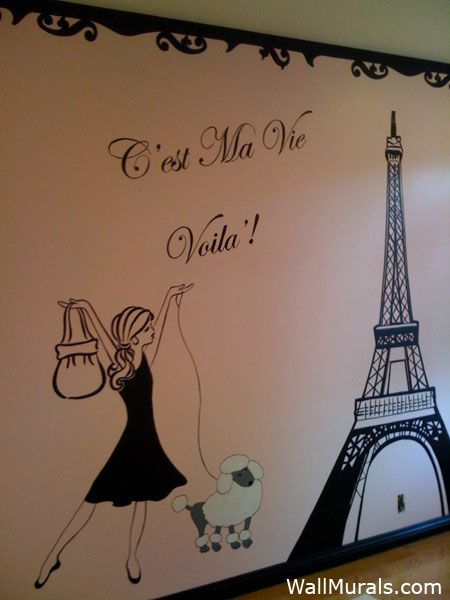 Wall Murals for Tweens and Teens - Teenager Wall Murals by Colette
