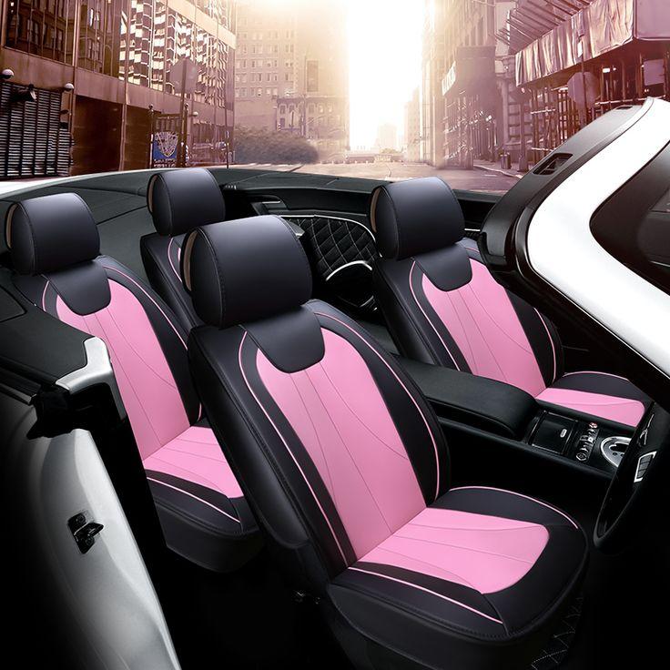 Full Cover Fit Design Car Cushion Leather Car Seat Cover For Volkswagen Beetle CC Eos Golf Jetta Passat Tiguan Touareg Sharan