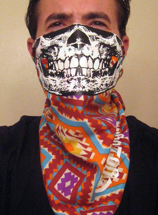 Aztek western tribal pattern Calavera Sugar Skull by EGOLOGICS