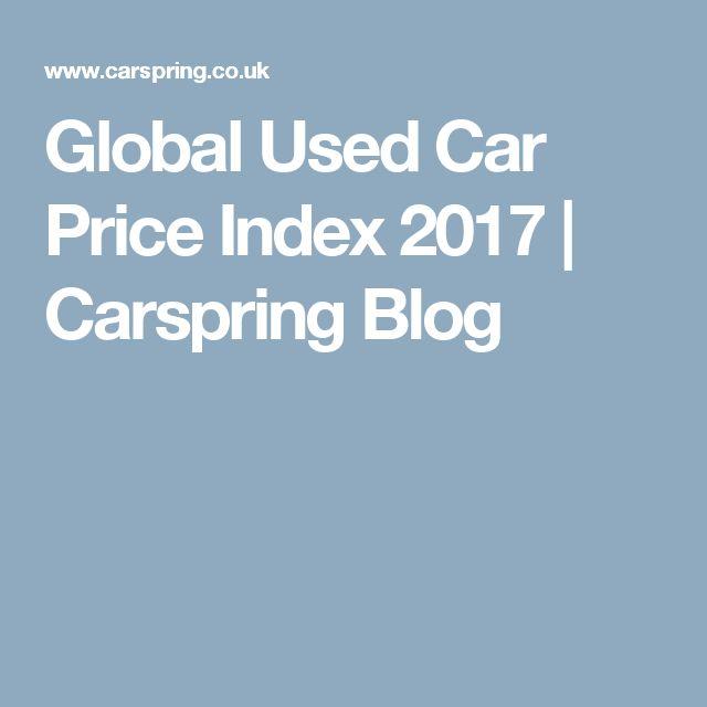 Global Used Car Price Index 2017 | Carspring Blog