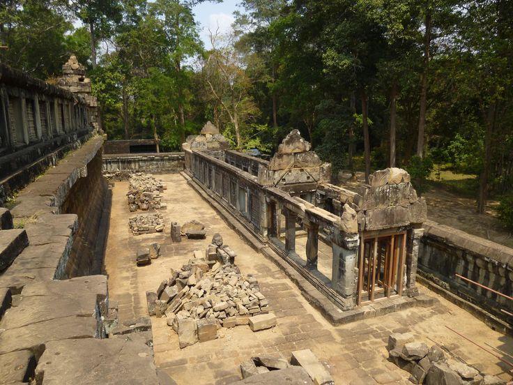 #TaKeo inside; #Temple # Angkor #Cambodia