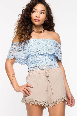 Maybe you're into feeling like a Fancy Lady, in which case this lace shirt has your name on it.