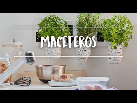 (214) Cómo hacer maceteros eco - Tutorial Bezoya - YouTube