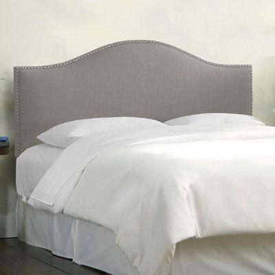 Skyline Furniture Nail Button Linen Upholstered Headboard & Reviews | Wayfair