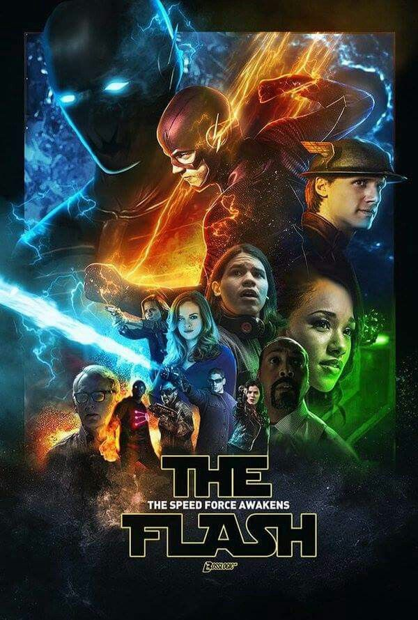 The Flash season 2 fan made poster (Star Wars)