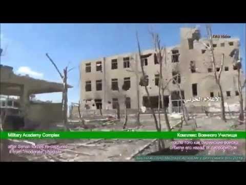 Guerra na Síria - Academia Militar de Aleppo recapturada