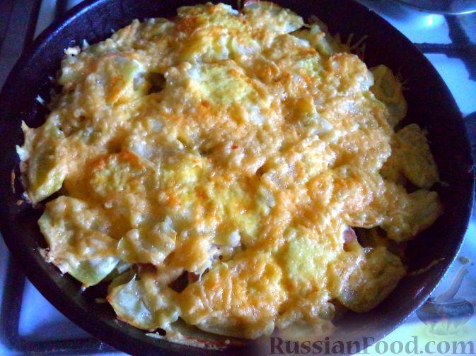 Фото приготовления рецепта: Картошка по-французски - шаг №15