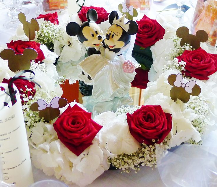 Mariage Disney  Centre de table Mickey Mouse