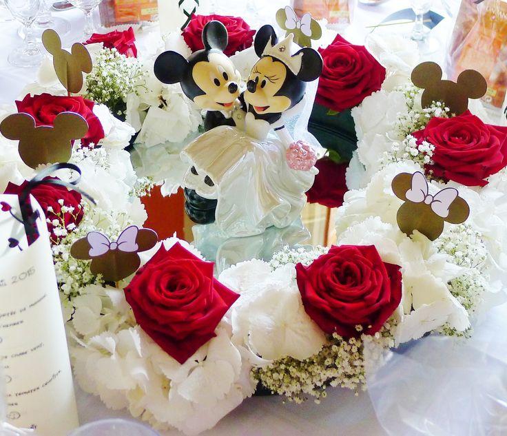 Mariage Disney  Centre de table Mickey Mouse
