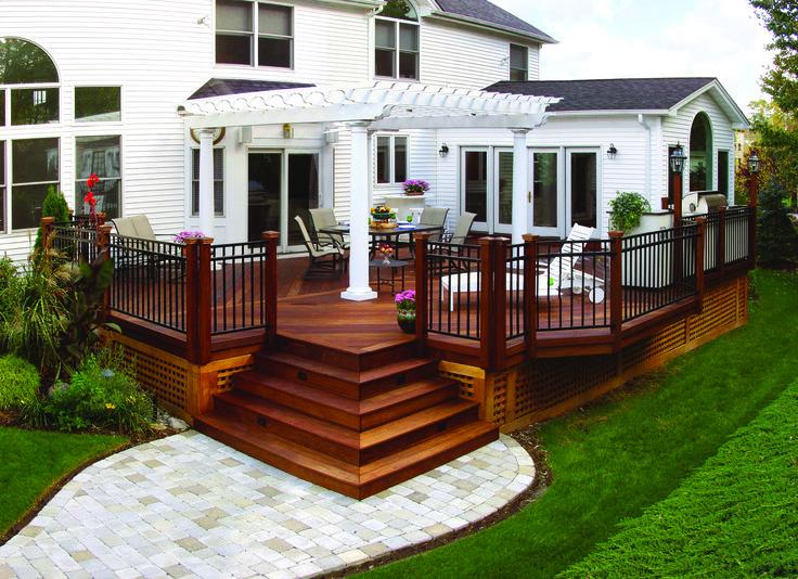 13 best upstate front deck images on Pinterest | Front deck, Front ...