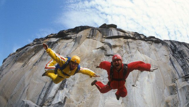 Documentary leaps into the world of BASE jumping and its founder, Carl Boenish.