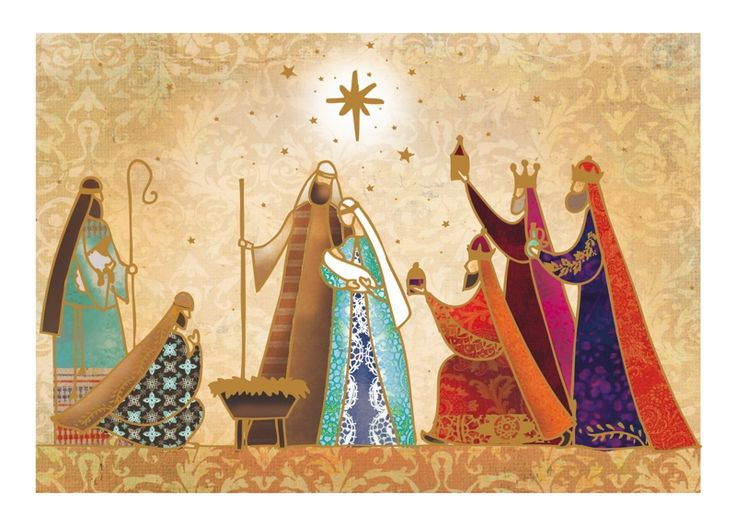 Worship the King Tearfund Charity Christmas Cards