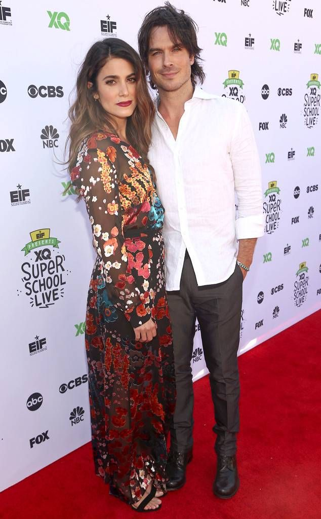 ian somerhalder and nikki reed dating since Ian somerhalder and nikki reed walked their first red carpet since their daughter was born, and they looked so happy.