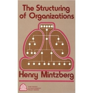 The Structuring of organizations, Henry Mintzberg