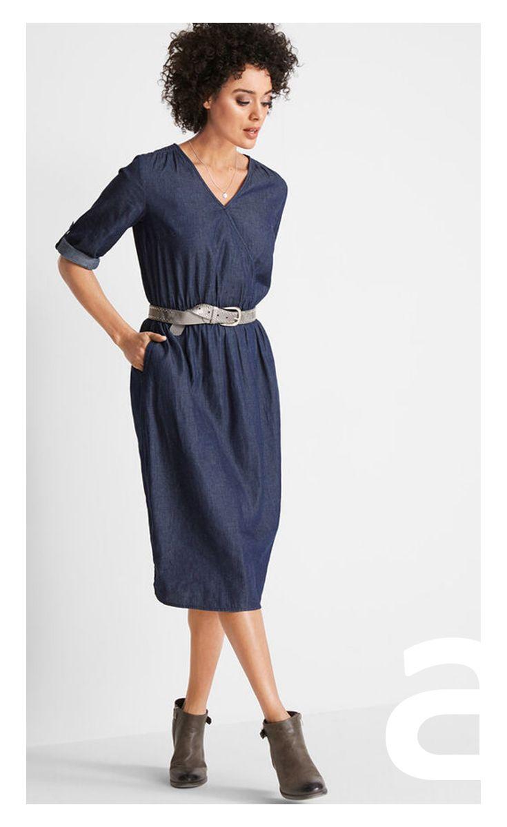 5afc1d51a1 jeansowa sukienka