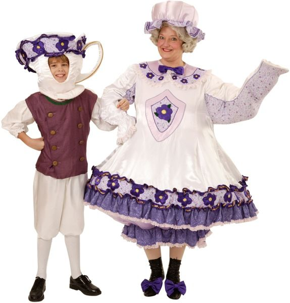 rental costumes for beauty and the beast mrs potts the