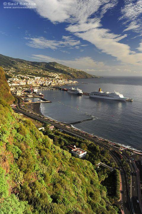 Puerto de Santa Cruz de La Palma, Isla de La Palma. Islas Canarias