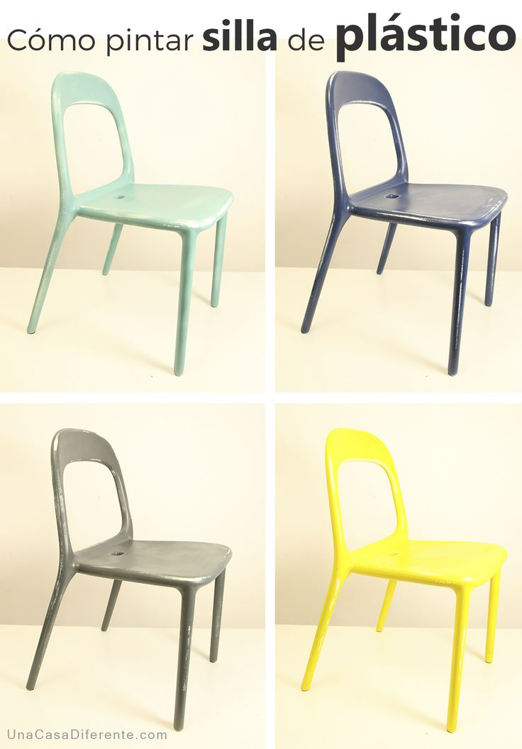 Las 25 mejores ideas sobre sillas de pl stico en pinterest for Como pintar puertas de sapeli