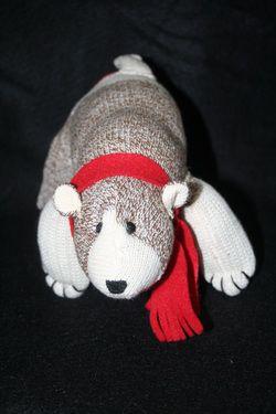 polar sock monkey sock monkey polar craft