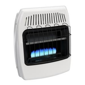 Dyna-Glo 20,000 BTU Blue Flame Vent Free Natural Gas Wall Heater-BF20NMDG - The Home Depot