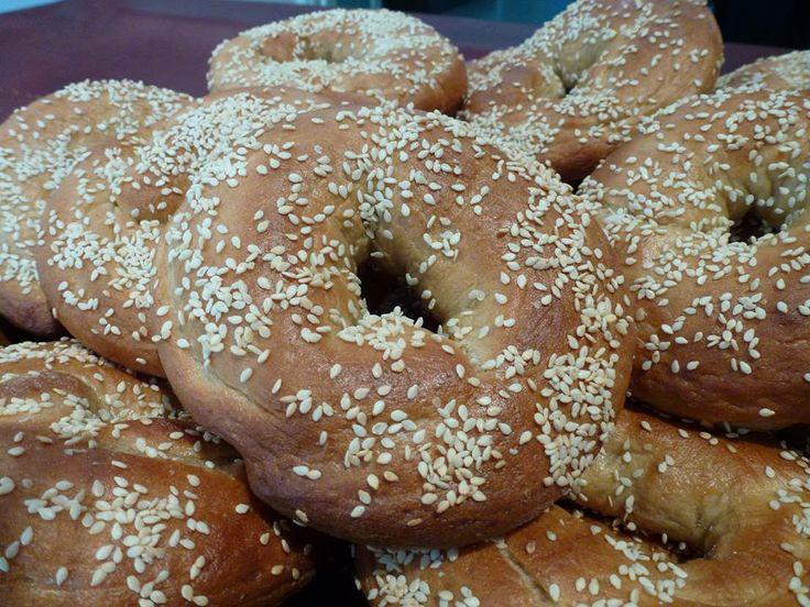 Fresh baked bagels from Sweet Dream Bakery!