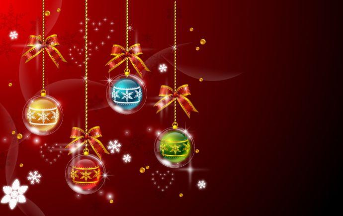 christmas ornaments wallpaper 8026 - photo #26