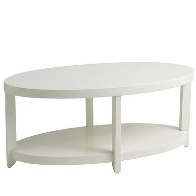 Meyers Coffee Table - Antique White