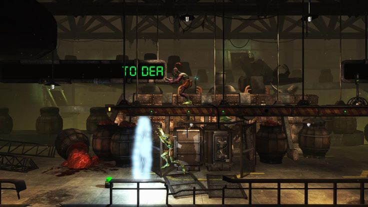 Upcoming Indie game Oddworld New 'n Tasty for PS4.
