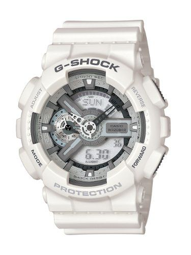 Casio Men's Ga110c-7Acr G-Shock Large White Analog-Digital Multi-Function Sport Watch, 2015 Amazon Top Rated Sport Watches #Watch