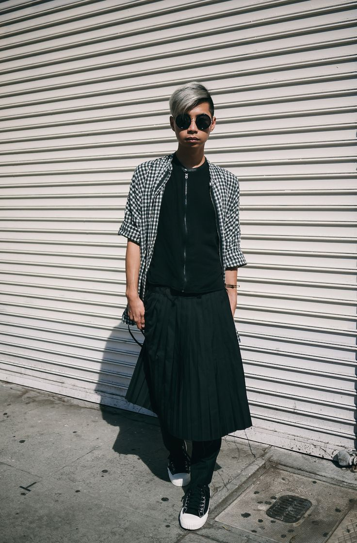 Real Men Wear Skirts — MYBELONGING | High Fashion, Agender Menswear. Food and…