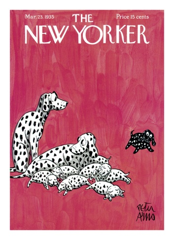 The New Yorker Cover - March 23, 1935 Giclee Print by Peter Arno at eu.art.com